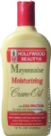HOLLYWOOD BEAUTY Mayonnaise Moisturizing Creme Oil with Egg Protein for Ends that Bend not Break